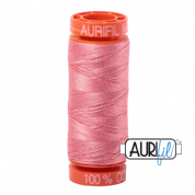 Aurifil 50 Cotton Thread - 2435 (Peachy Pink)